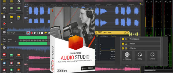 MAGIX Sound Forge Audio Studio 15.0.0.40 + Portable