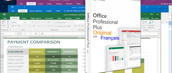 Microsoft Office 2019 Pro Plus Français Original