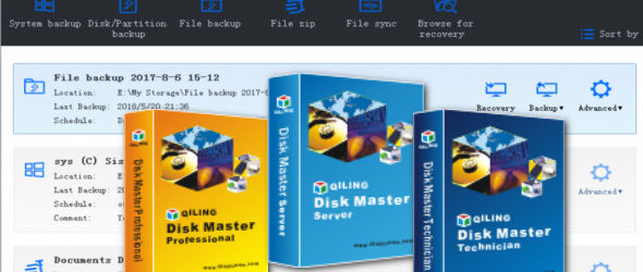 QILING Disk Master 5.5.1 + WinPE